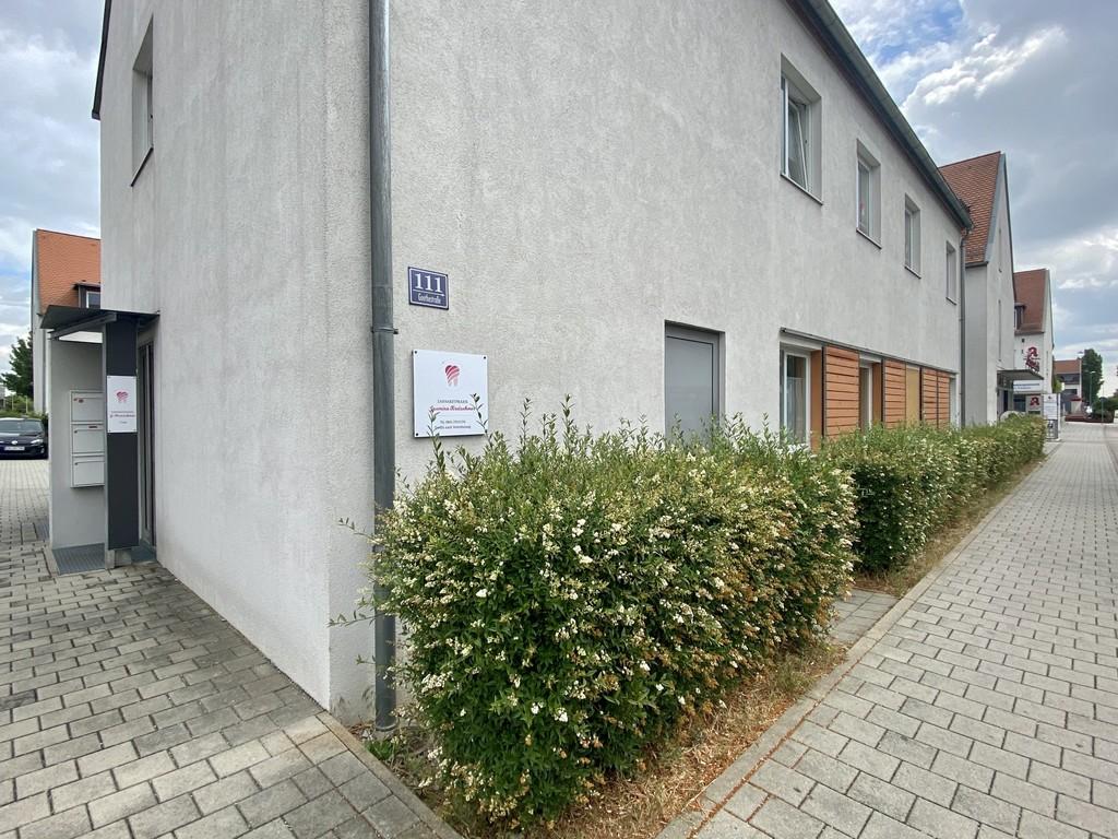 Zahnarztpraxis Kretschmer außen Goethestraße